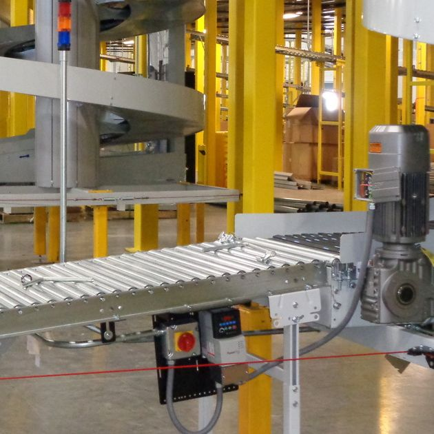 Conveyor, Material Handling Systems, bcu electric